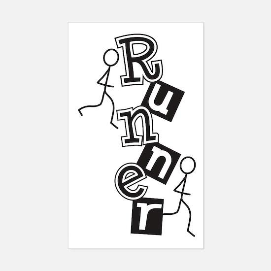 Runner Sticker (Rectangle)