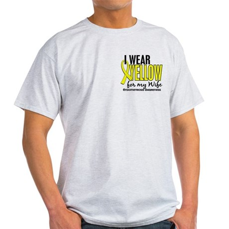 I Wear Yellow 10 Endometriosis Light T-Shirt