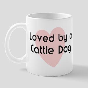 Loved by a Cattle Dog Mug