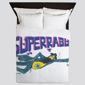 SUPERRABBI Queen Duvet