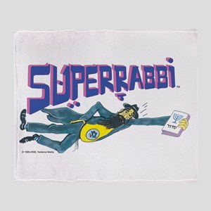 SUPERRABBI Throw Blanket