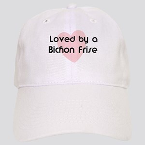 Loved by a Bichon Frise Cap