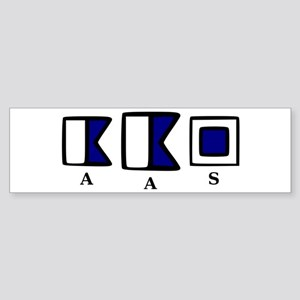 aAs Sticker (Bumper)