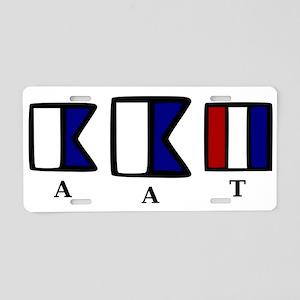 aAt Aluminum License Plate