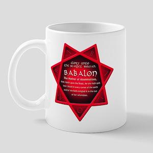 Star of Babalon Mug