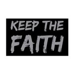 Keep the Faith 38.5 x 24.5 Wall Peel