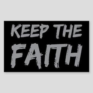 Keep the Faith Sticker (Rectangle)