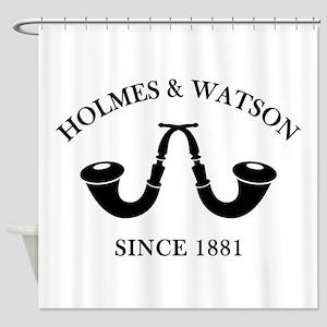 Holmes & Watson Since 1881 Shower Curtain