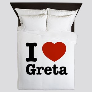 I love Greta Queen Duvet