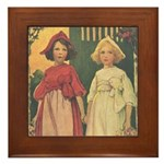 Smith's Snow White & Rose Red Framed Tile