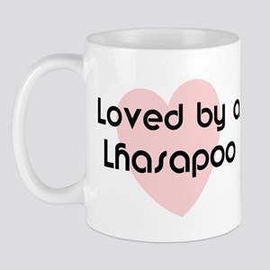 Loved by a Lhasapoo Mug