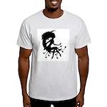 Moon Maiden Ash Grey T-Shirt