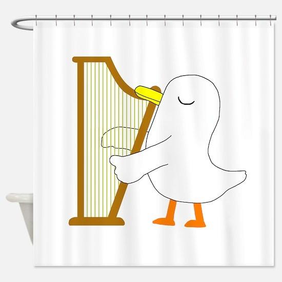 Harpist Shower Curtain
