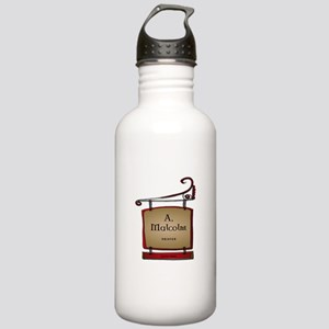 Jamie A. Malcolm Print Stainless Water Bottle 1.0L