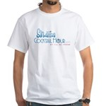 Sinatra Cocktail Hour White T-Shirt