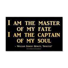 """""""Master Of My Fate"""" Wall Decal"""