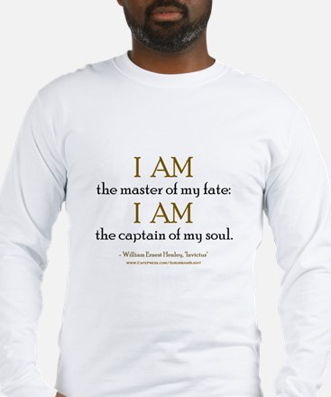 """Master Of My Fate"" Long Sleeve T-Shirt"