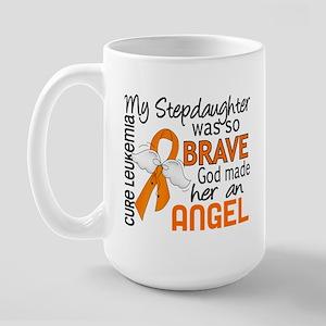 Angel 2 Leukemia Large Mug