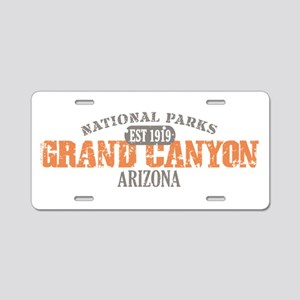 Grand Canyon National Park AZ Aluminum License Pla