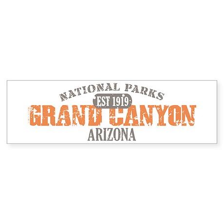 Grand Canyon National Park AZ Sticker (Bumper 10 p