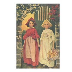 Smith's Snow White & Rose Red Postcards (Package o