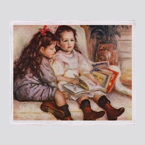 Storytime, Renoir Throw Blanket