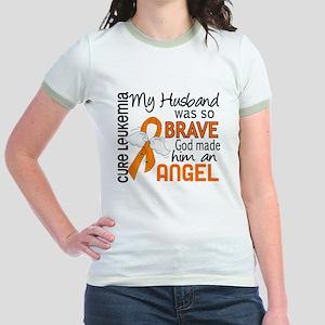 Angel 2 Leukemia Jr. Ringer T-Shirt