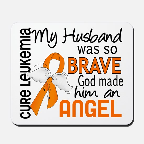 Angel 2 Leukemia Mousepad