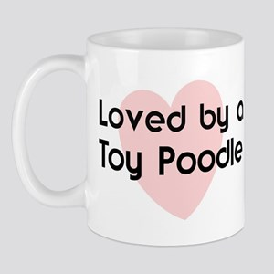 Loved by a Toy Poodle Mug