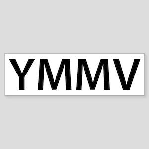YMMV Sticker (Bumper)