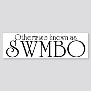 SWMBO Sticker (Bumper)