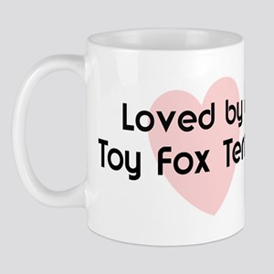 Loved by a Toy Fox Terrier Mug