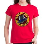 I'll Be Frank Women's Dark Colored T-Shirt (Red)