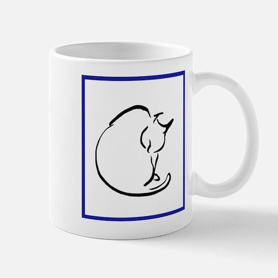 Washing Cat Mug