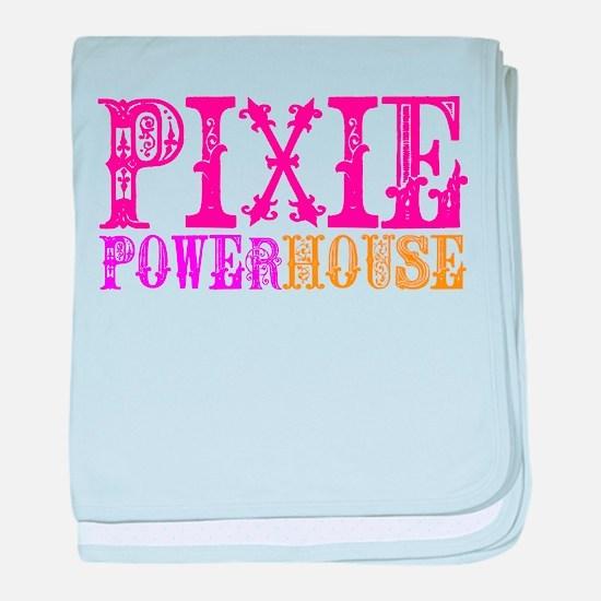 Pixie Powerhouse baby blanket