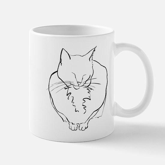 Contented Cat Mug