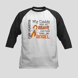 Angel 2 Leukemia Kids Baseball Jersey