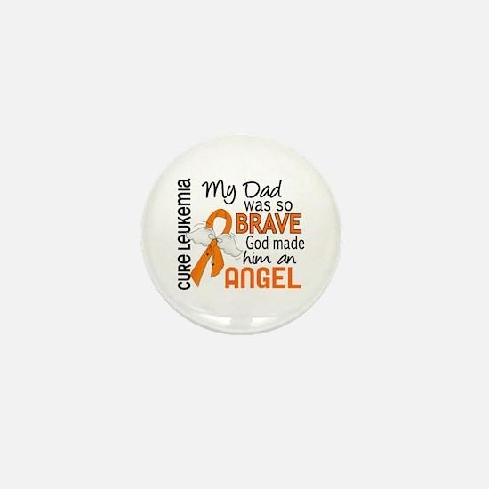 Angel 2 Leukemia Mini Button