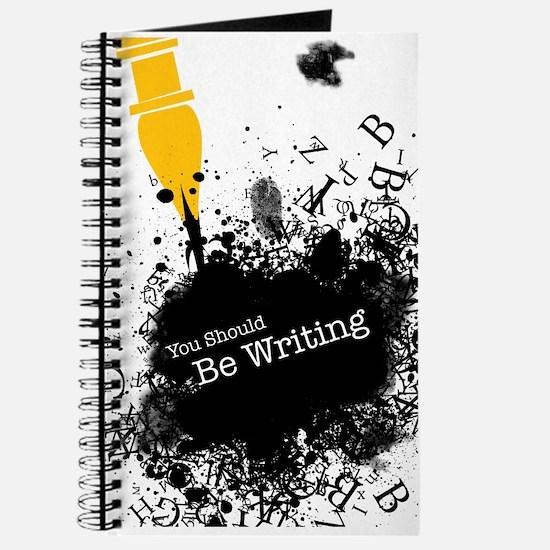 You should be writing (pen) Journal