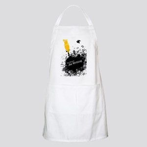 You should be writing (pen) Apron