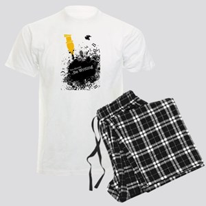 You should be writing (pen) Men's Light Pajamas