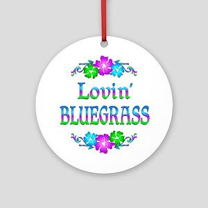 Lovin Bluegrass Ornament (Round)