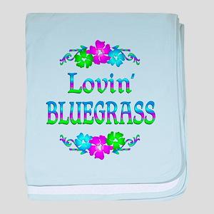 Lovin Bluegrass baby blanket