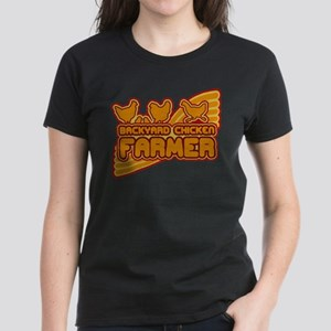 Backyard Chicken Farmer Women's Dark T-Shirt