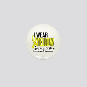 I Wear Yellow 10 Endometriosis Mini Button