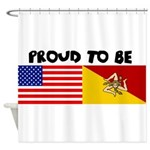 Proud to be Sicilian - Shower Curtain