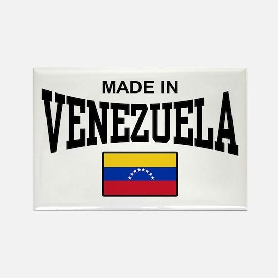 Made In Venezuela Rectangle Magnet