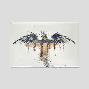 Americana Eagle Rectangle Magnet