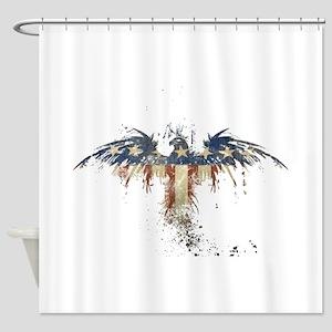 Americana Eagle Shower Curtain
