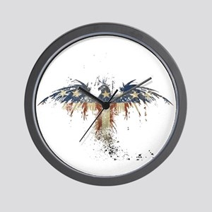 Americana Eagle Wall Clock